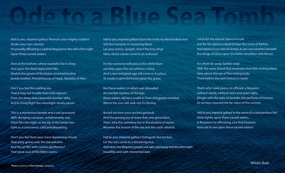 Ode to a Blue Sea Tomb